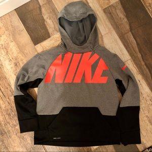 Nike Youth Hooded Sweatshirt Dri-Fit